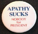 Nobody's Button - Artist Unknown - Apathy - 1976