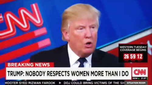 NOBODY Respects Women More Than I do ~ Donald Trump
